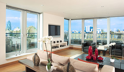 The Penthouse at Tea Trade Wharf, a luxury serviced apartment in London